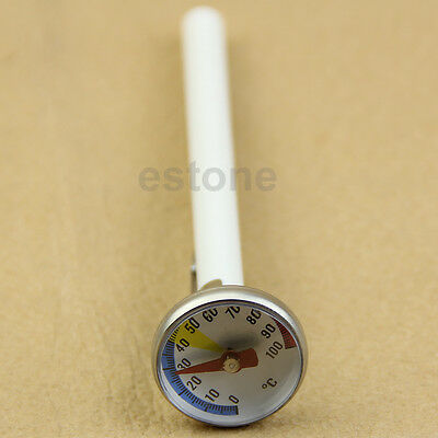 Stainless Steel Temp Probe - New Stainless Steel Food Milk Powder Special Probe Temp Thermometer 100℃
