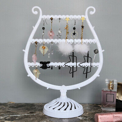 Jewelry Tree Stand Necklace Display Rack Earring Holder Ring Organizer Exotic Jewelry & Watches