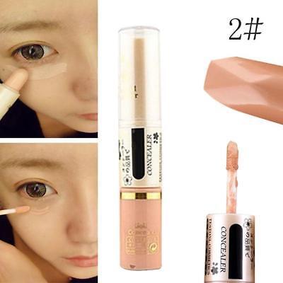 2in1 Blemish Hide Concealer Under Eye Circle Concealer Stick Creamy Makeup 2# KS