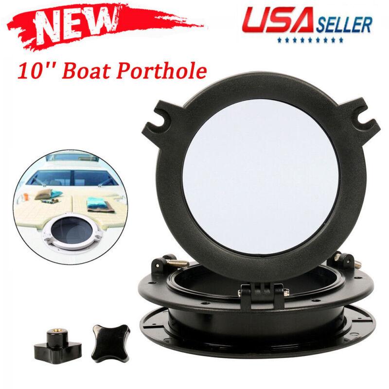 10inch Boat Yacht Round Porthole Opening Window Port Hole Portlight Hatch Marine
