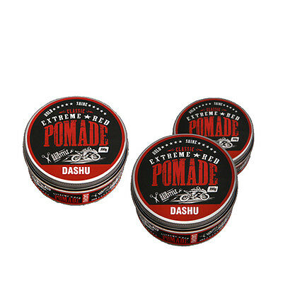 [DASHU] Classic Extreme Red Pomade 100ml water based, Hair Wax x 3ea. (3 pieces)