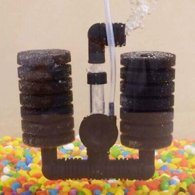 Best Practical Aquarium Biochemical Sponge Filter Fish Tank Air Pump Double