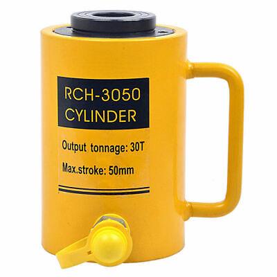 Rch-3050 Hydraulic Hollow Hole Cylinder Jack Ram 30 Tons Industrial 50mm Stroke