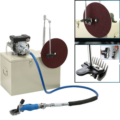 360°Rotate Electric Shearing Machine Clipper Shears For Sheep Goats Farm 220V