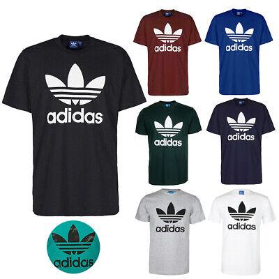 Adidas Men's Short-Sleeve Trefoil Logo Graphic T-Shirt Adidas Short Sleeve T-shirt