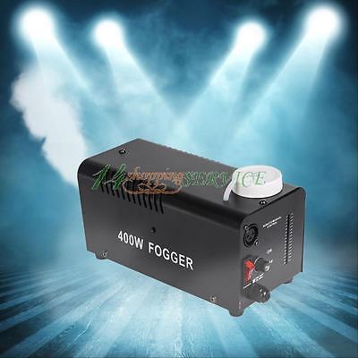 Remote Smoke Mist Fog Effect Machine Mounted for Disco Party Club DJ Stage 400W