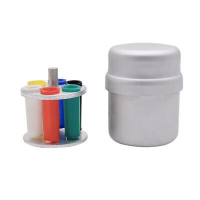 Aluminium Endo Holder Gutta Percha Point Disinfection Box Autoclave Block Dental