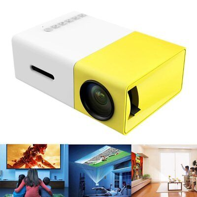 Zs- Mini Proiettore Portatile HD LED  Videoproiettore Home Cinema VGA/USB/SD/AV/
