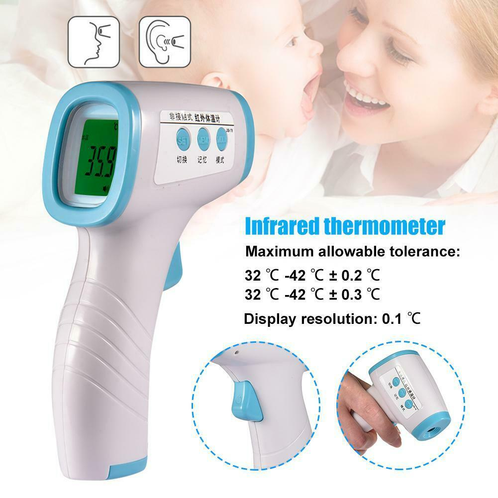 Ear Thermometer Digital Adult Baby IR In-Ear InfraRed LCD Temperature Durable