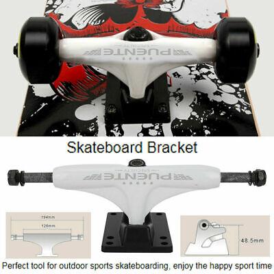 2X 4-8in Magnesium Longboard Skateboard Bridge Skate Board Trucks Bracket Parts