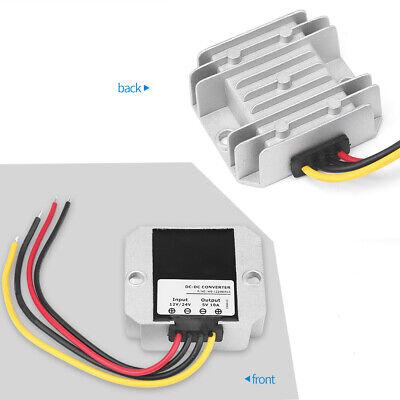 Dc-dc Converter Voltage Regulator Module 12v24v To 5v 10a Waterproof