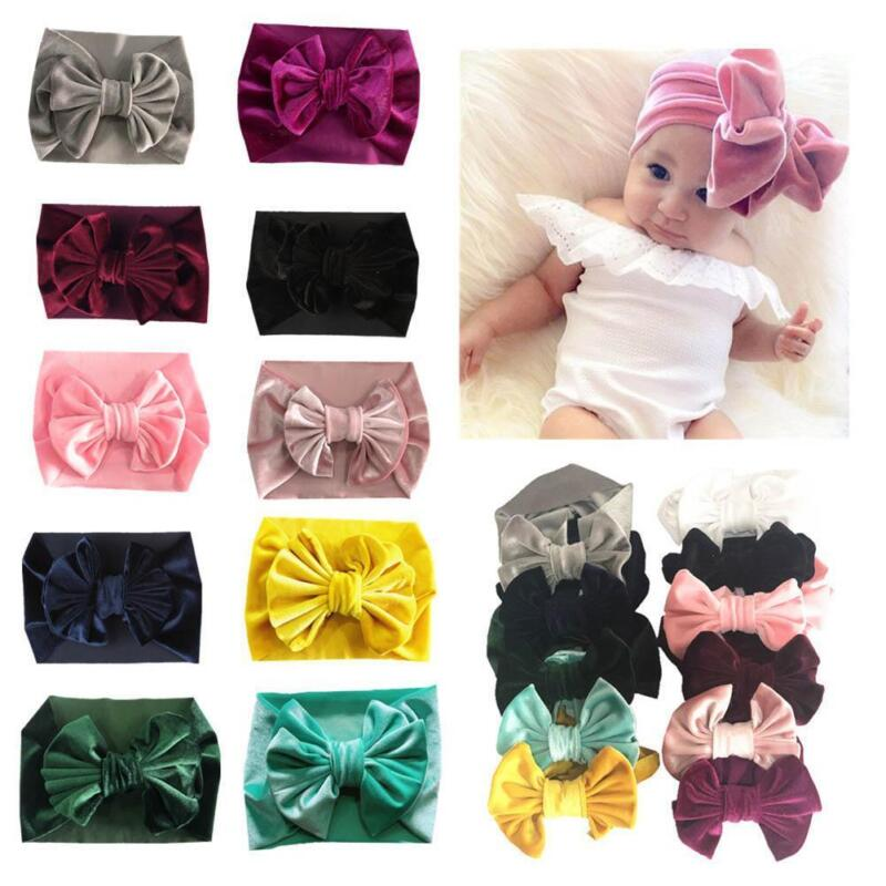 16Pc Baby Girl Hair Accessory Chiffon flower Child Head Flower No Clip