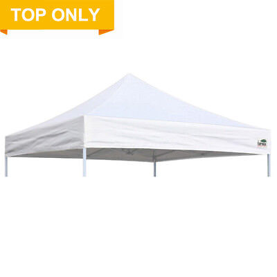 White10x10 Ez Pop Up Canopy Sunshade Gazebo Tent Replacement Top Polyester Cover