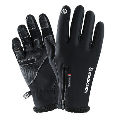 -10 ℃ Winter Thermal Ski Gloves Touchscreen Waterproof Snow Motorcycle Women -