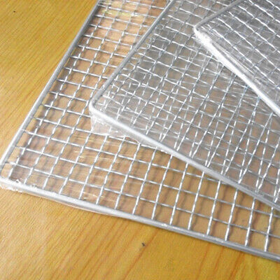 1X BBQ Grill Grate Grid Wire Mesh Rack Cooking Net Durable