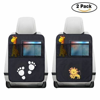 2 x Kindersitz Rückenlehnenschutz Unterlage Autositzauflage Sitzschoner Matte DE