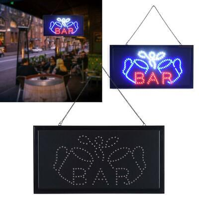 New Super Bright Led Bar Sign Board Pub Club Display Light Lamp Open With Onoff