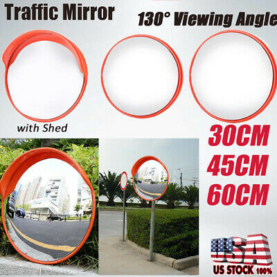 304560cm Traffic Safety Outdoor Indoor Mirror Angle Convex Security Wall Pole