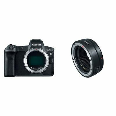 Canon EOS R Mirrorless Digital Camera w/Mount Adapter EF-EOS R
