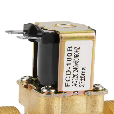 Válvula Solenoide 220 V / 4 Hilo, Válvula Eléctrica de Presión Normalemente