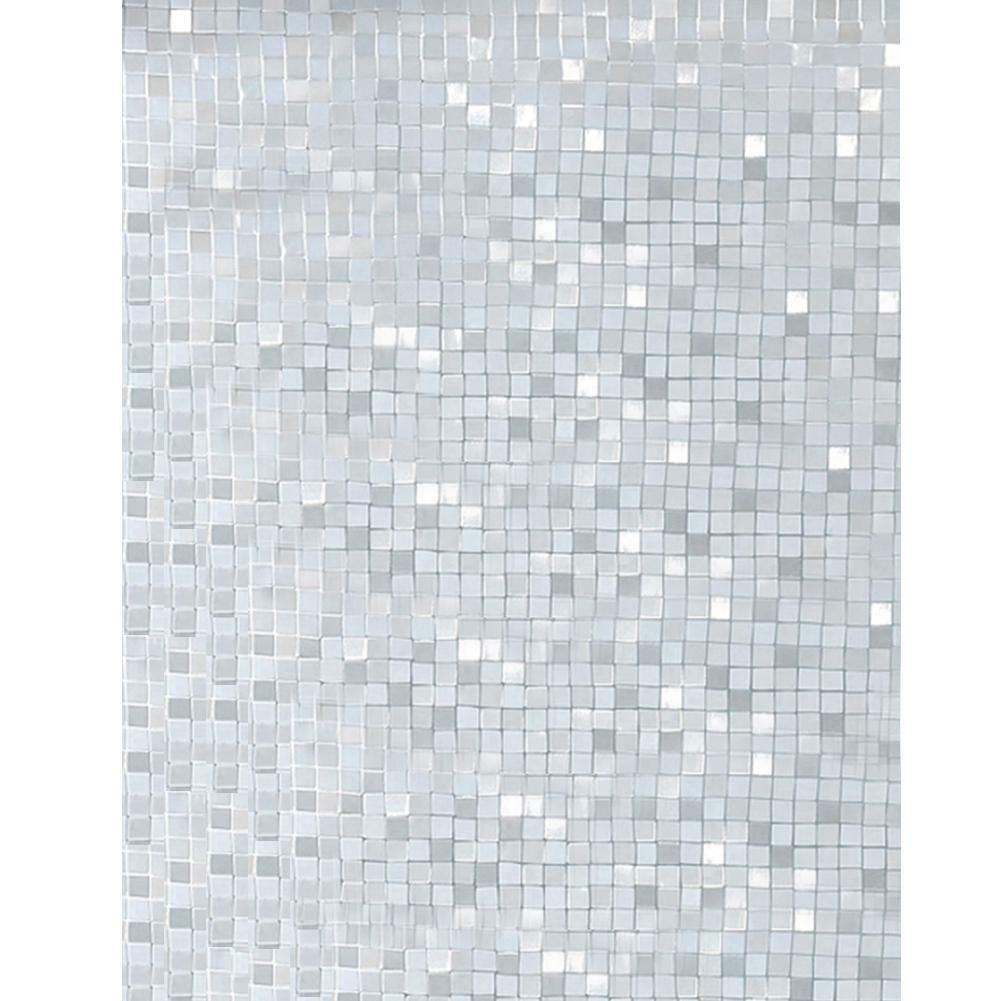3D PVC Frosted Opaque Window Film Static Decorative Adhesive Home Glass Stickers