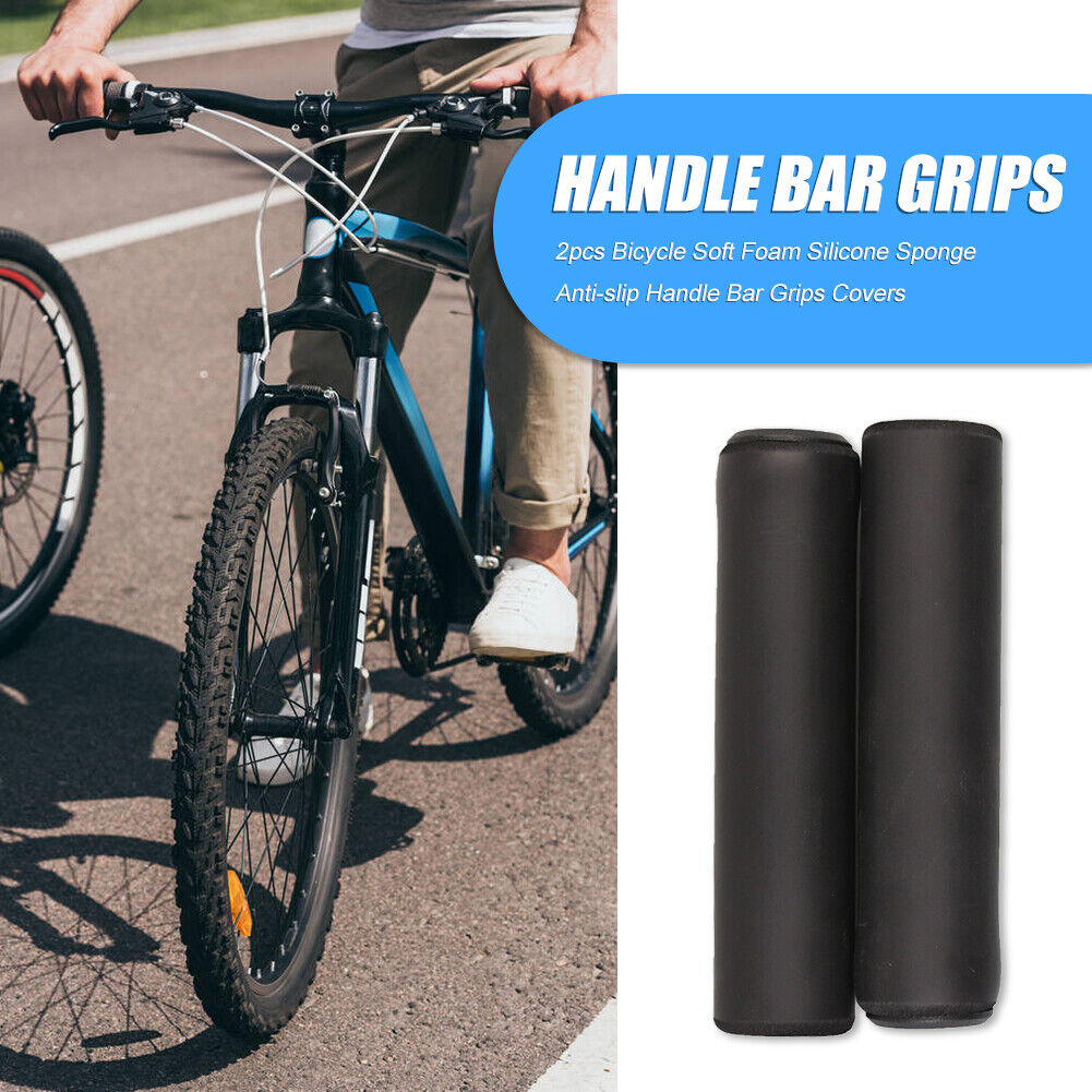 MTB Road Bike Grips Soft Silicone Handlebar Mountain Bicycle Cycling Grip Parts