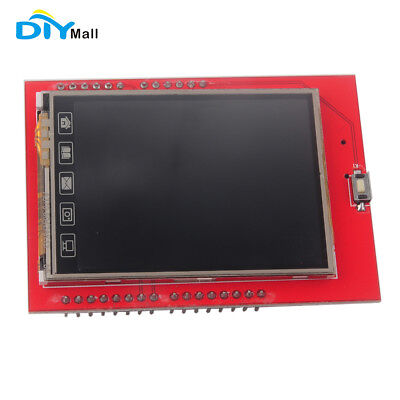 2.4 Inch 2.4 Tft Lcd Shield Touch Panel Module Tf Micro Sd For Arduino Uno R3