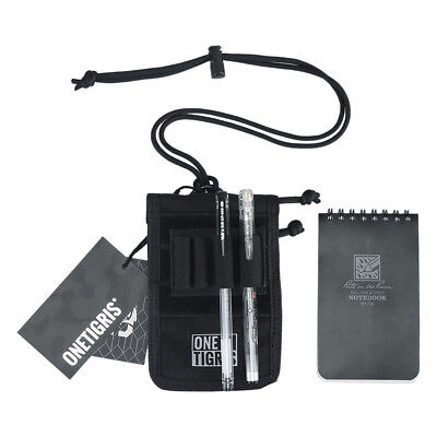 OneTigris Tactical Field Mini Notebook Organizer 1000D Nylon Case w/ Pen Holder
