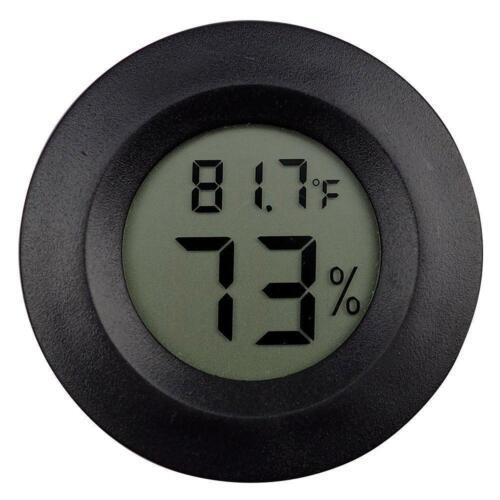 Digital Meter LCD Temperature Humidity Hygrometer Vivarium R