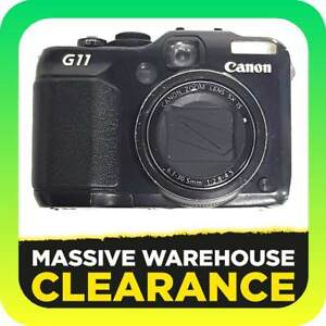 Canon PowerShot G11 10.0 MP Digital Camera - Black Tullamarine Hume Area Preview