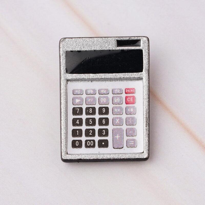 1:12 Dollhouse Metal Calculator Home Office School Miniature Accessory Decor.Pro