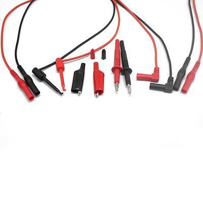 4 Aidetek Test Leads For Fluke Multimeter Tester Tl809 Electronic Test Tlp1070