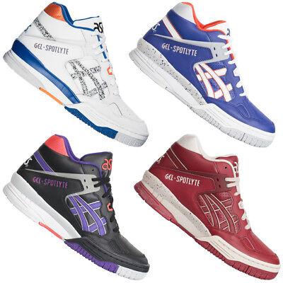ASICS Gel Spotlyte Herren Mid Sneaker H419L H447L Schuhe Freizeit High-Top neu