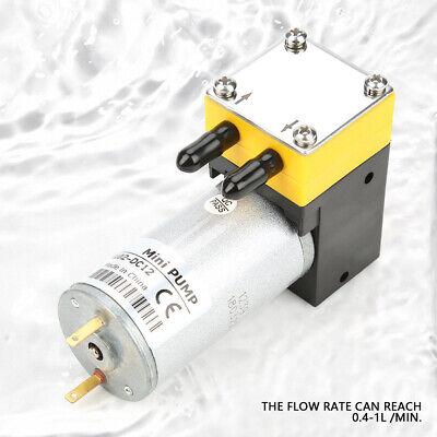 0.4-1lmin Electric Dc Motor Micro Diaphragm Vacuum Self Priming Water Pump