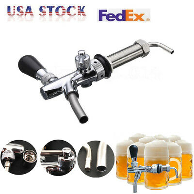 Draft Beer Faucet Beer Tap Tower Flow Controller Chrome G58 Tap For Kegerator