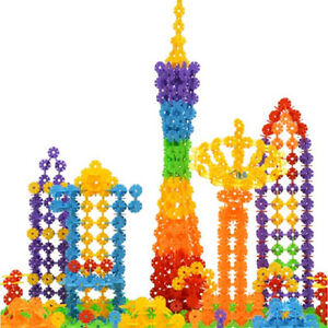 118pcs-Children-Kids-Toys-Gift-Building-Construction-Plastics-Puzzle-Toy-New