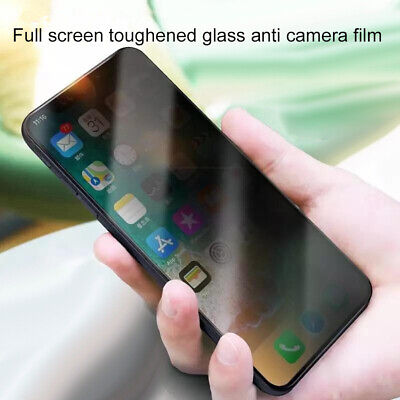 Full Screen Privacy Tempered Glass Protector Film Cover for iPhone 7 8 11 Pro XR Cell Phone Accessories