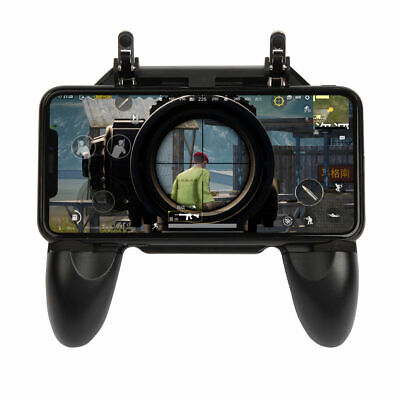 W10 Cellphone Game Grip Gaming Controller Gamepad Joystick Fire Trigger For PUBG