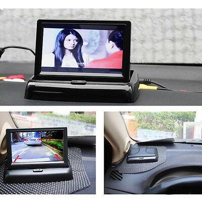"""4.3"""" LCD TFT Car Rear View Backup Monitor Parking Night Vision Video Camera Kit"""