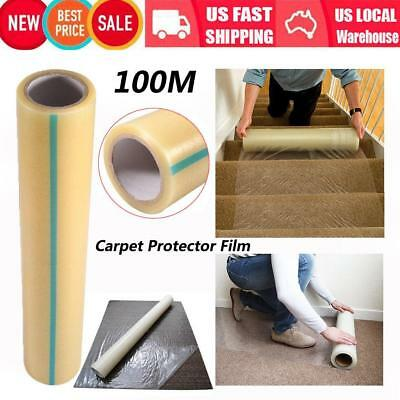 """Pro Carpet Protector Dust Cover Plastic Protection Film 24"""""""