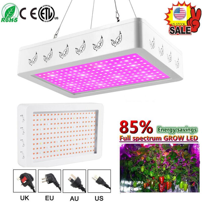 1000W/2000W LED Grow Light Full Spectrum Veg Flower Indoor P
