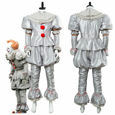 2019 Stephen King It chapter 2 Pennywise Cosplay Costume Clown suit New Arrival](Rex Costume)