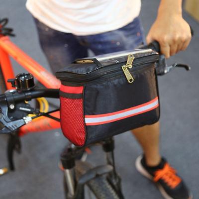 NUOVO ciclismo biciclette manubrio bici ANTERIORE TUBOLARE PORTAPACCHI BORSA