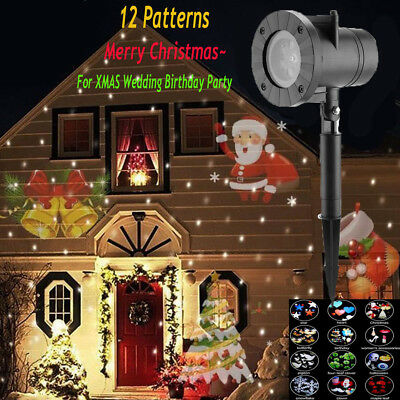 Outdoor LED Moving Laser Projector Light Landscape Xmas Garden Halloween Party](Outdoor Halloween Projector)