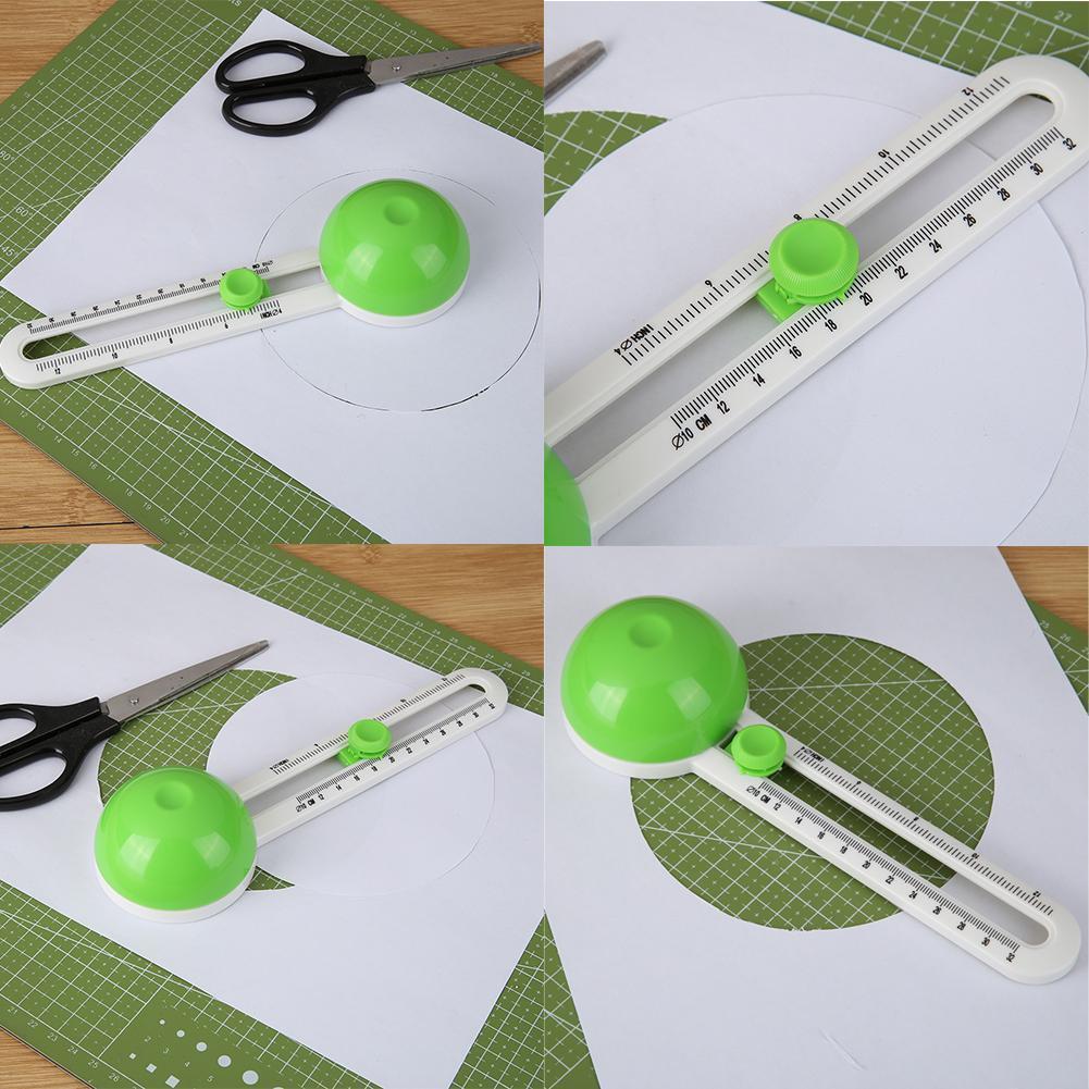 Kreisförmige Papierschneider Schere rund Cutter Paste Scrapbooking Schneider
