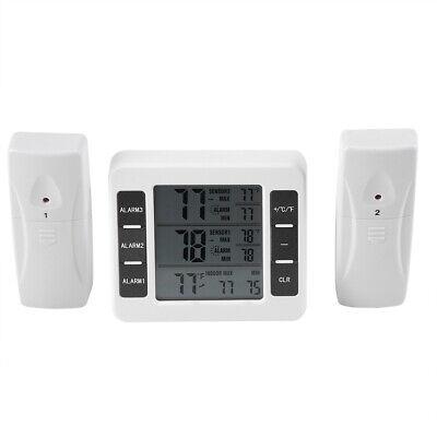 Inalámbrico Digital Congelador Termómetro Nevera Sensor de Temperatura Alarma