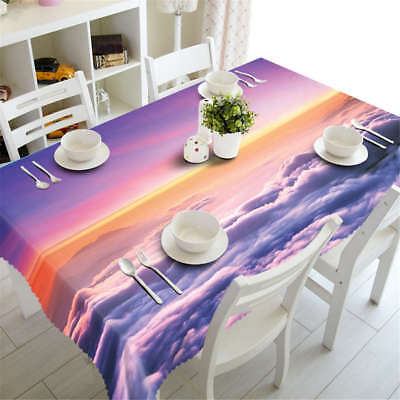 Cloud Riding 3D Tablecloth Table cover Cloth Rectangle Wedding Party