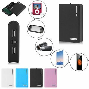 Dual-2-USB-Power-Bank-Case-Kit-4x18650-Battery-Charger-DIY-Box-For-Cell-Phone