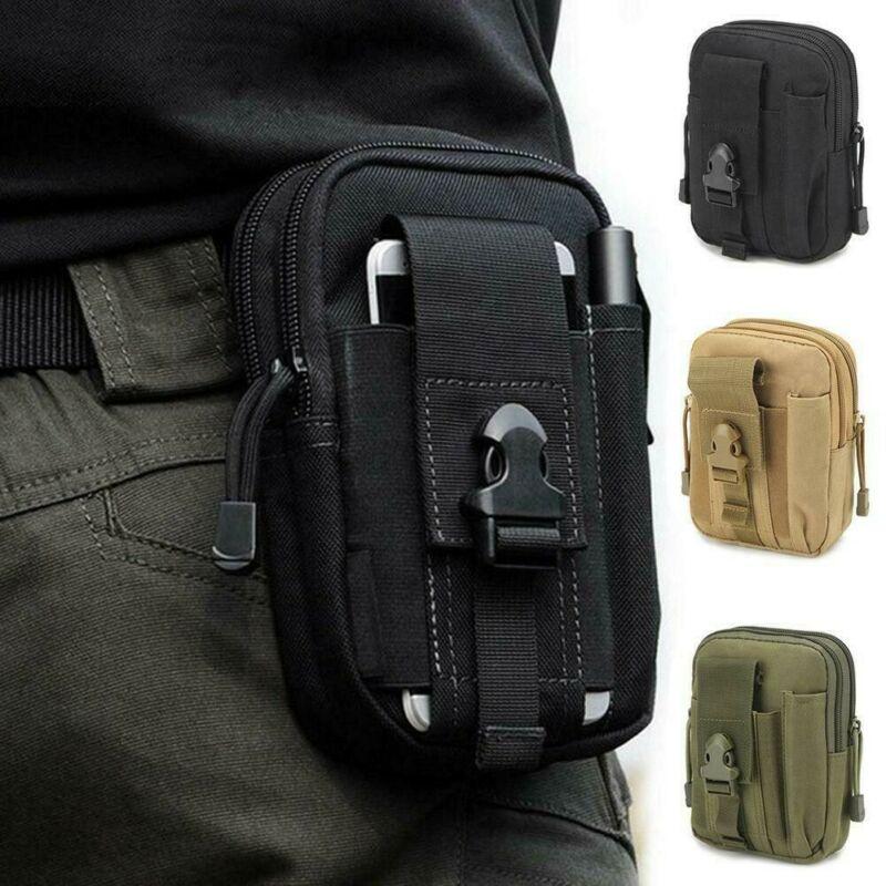 army tactical holster military molle waist belt