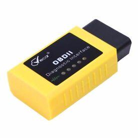 ELM327 OBD2 OBDII EOBD Car Bluetooth Fault Code Removal Scanner (02)